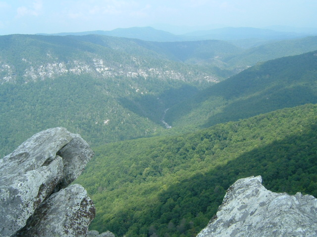 Linville gorge wilderness outdoor insider for Table rock nc cabins